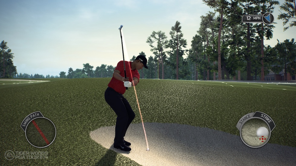 Tiger Woods PGA Tour 14 Short Game