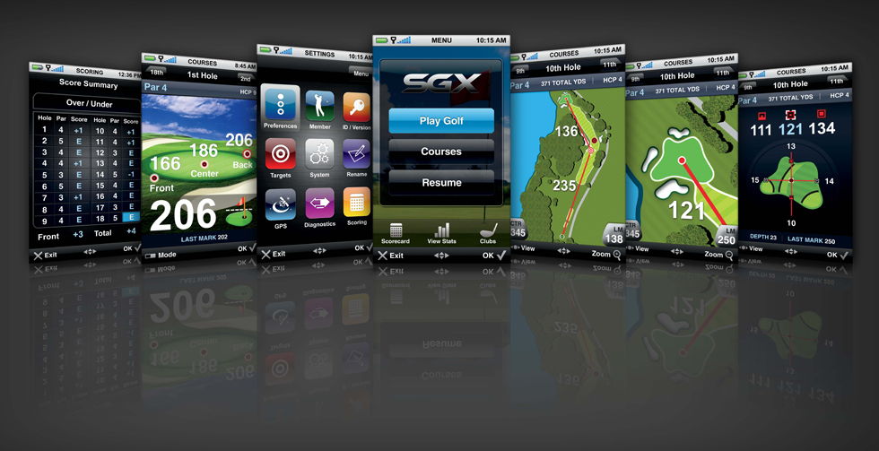 SkyGolf Annouces New SkyCaddie SGX with SmartClub Technology (Bag Drop ...