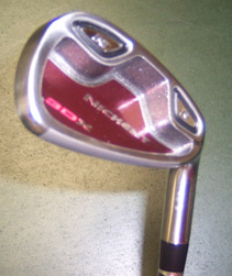 Nickent 3Dx Iron Angle