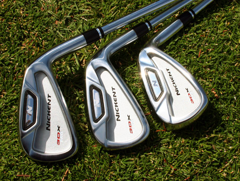 Nickent 3Dx Pro Irons Backs