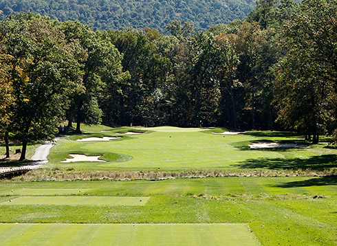 Bedford Springs Sixth Tee
