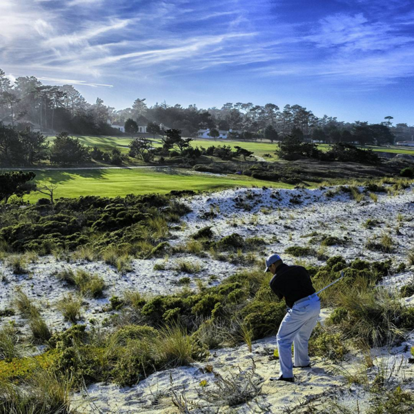 9th hole Cypress Point