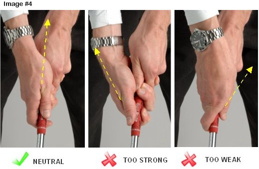 Clarify Neutral Golf Grip Please Instruction And Playing