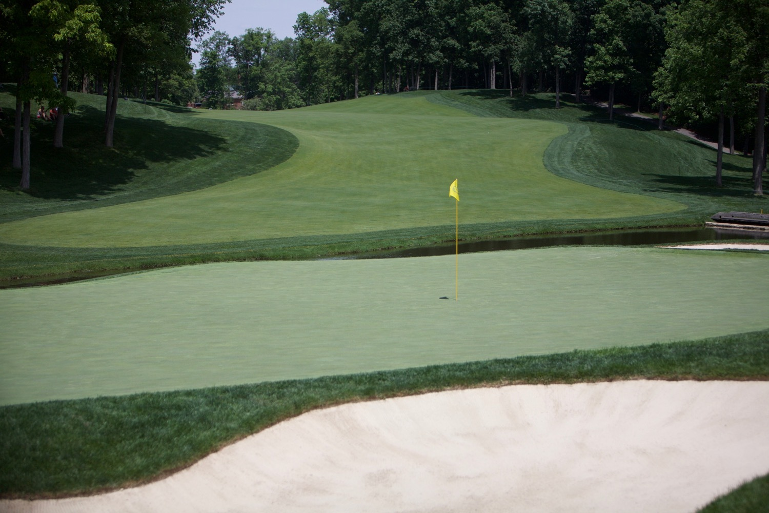 9th Green at Muirfield Village