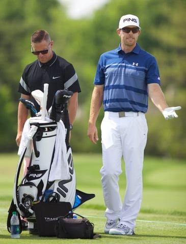 Hunter Mahan and Sean Foley