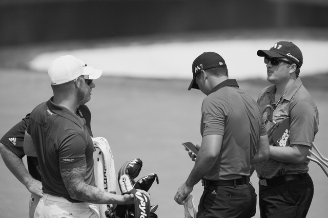 Jason Day Finishes his Practice Round
