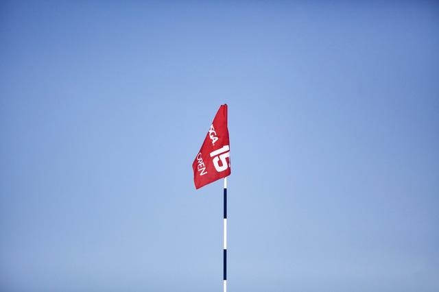 15th Flag at Oakmont