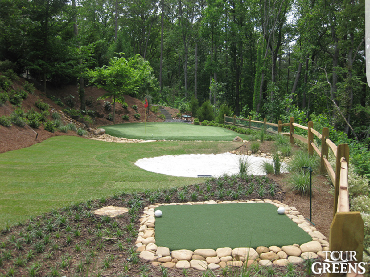 Creating a short game area in my backyard - Golf Courses ...