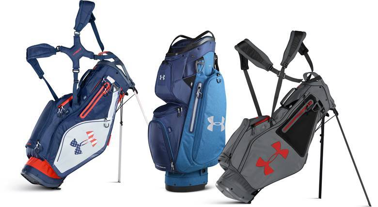 Armada Features 10 Pockets Two Are Water Resistant And The New Smart Strap System To Secure Bag Golf Cart Retail Price Is 259 99