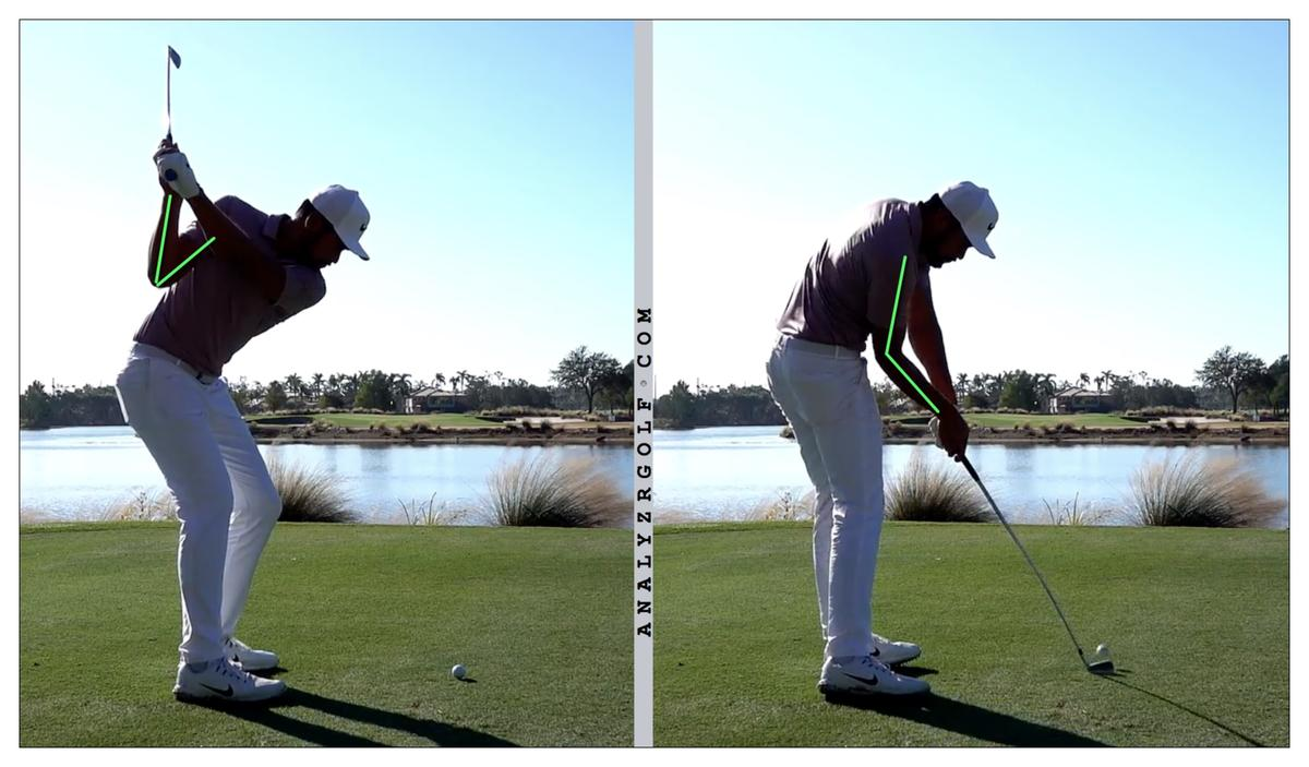 Speed from the Arms in the Golf Swing - Swing Thoughts - The Sand