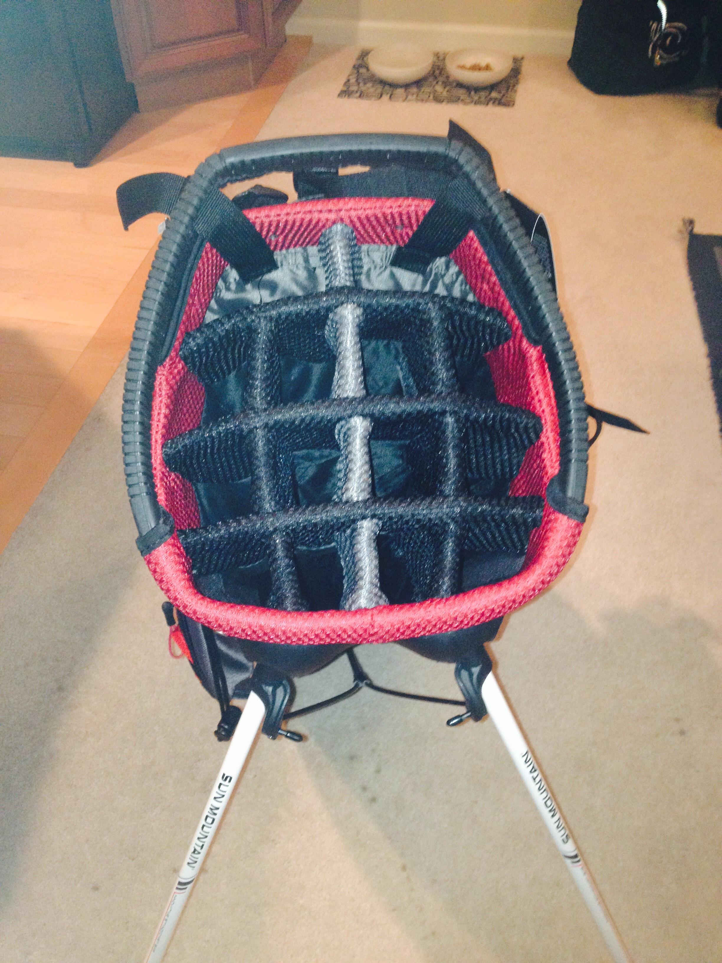 Sun Mountain C 130s Stand Bag Balls Carts Bags Apparel