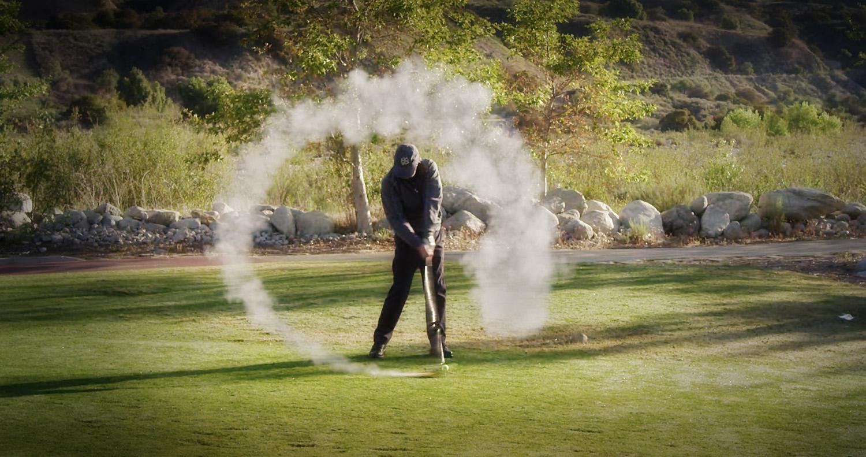 Rocket Golfer