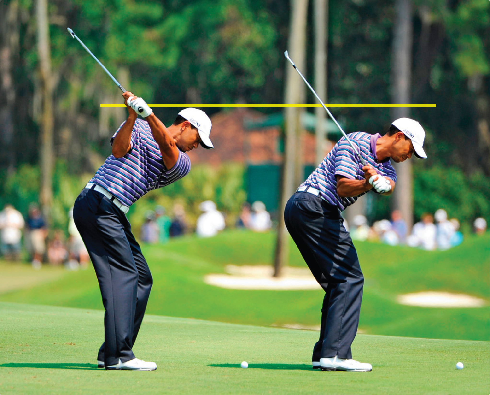 Tiger Woods Golf Swing Impact