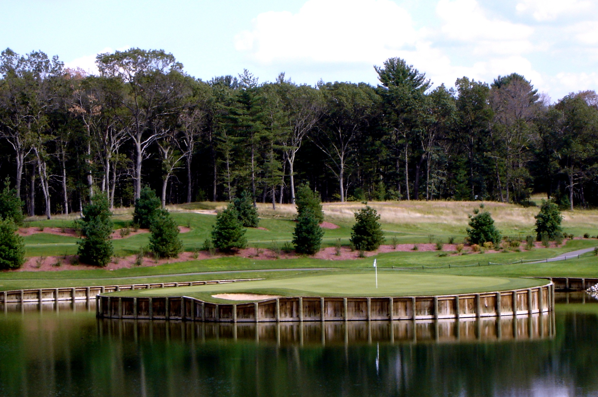 Replica of TPC 17th at Castle Bay, Arkdale, WI