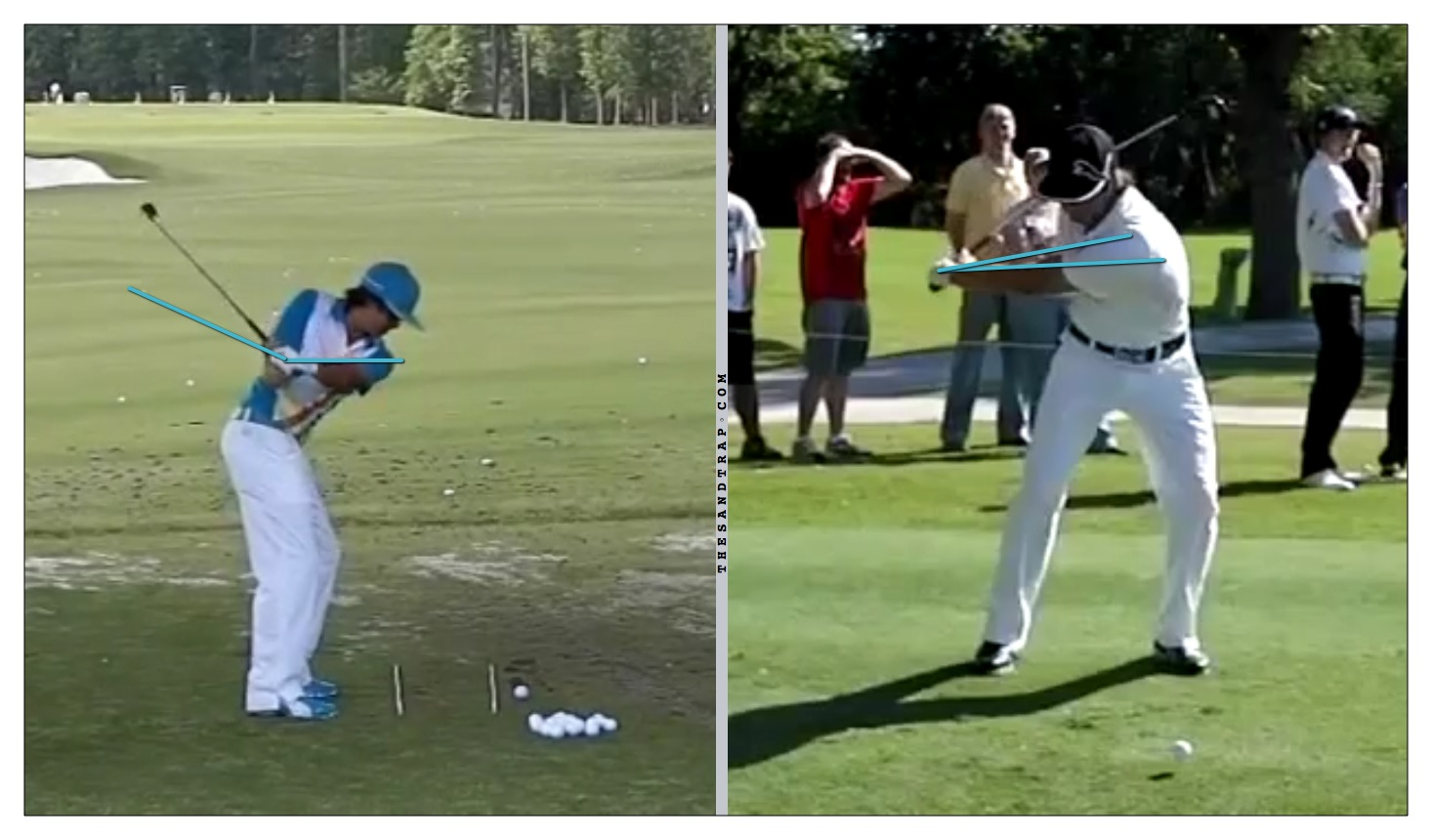 The Ps (Positions) or As (Alignments) in the Golf Swing