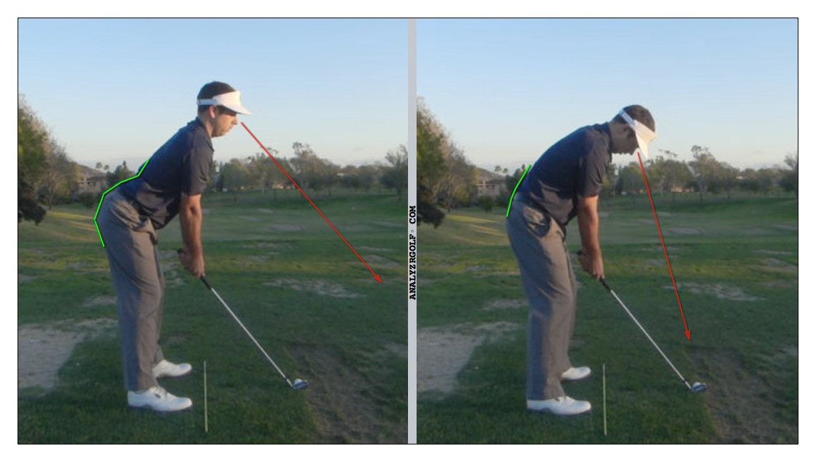 Good Golf Posture How To Address The Golf Ball Swing