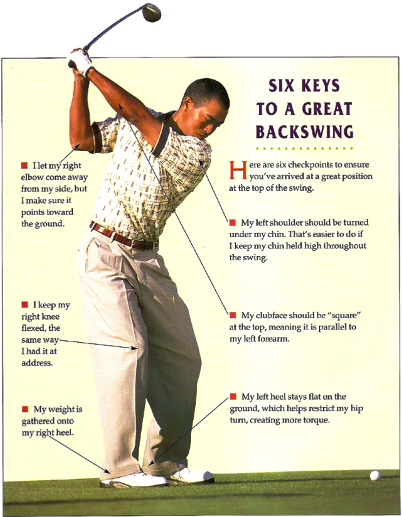 Six Keys To A Great Backswing - Instruction and Playing Tips
