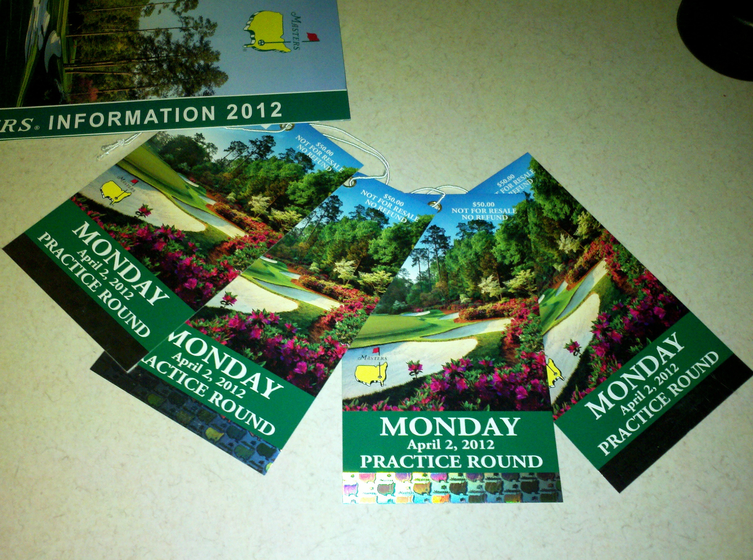 Master Ticket >> Masters Ticket Lottery Tour Talk The Sand Trap Com