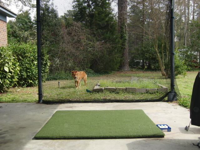 Best Backyard Golf Net diy golf net: anyone else built one? - golf talk - the sand trap