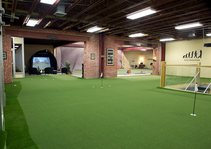 Man Cave Golf Simulator : Incredible man cave ideas that will make you jealous home