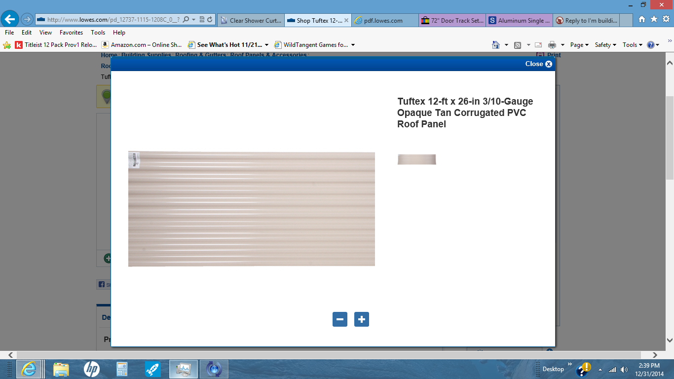 Tuftex Corrugated Pvc Roof Panel - Rugs Ideas