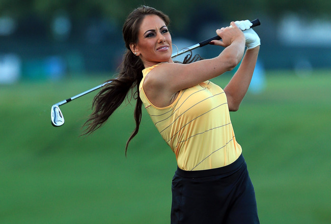 Busty golf pictures women